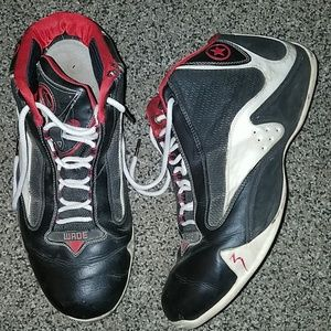 Converse Wade black red basketball shoes 14